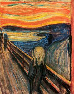 Edvard Munch's Der Schrei der Natur (The Scream of Nature)