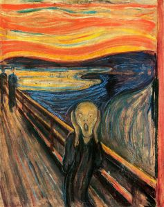 Edvard Munch's Der Schrei der Natur (The Scream of Nature)