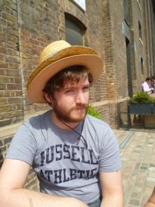 Frankie Lowe - a man who wears two hats