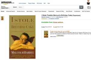 Something has gone terribly wrong in amazon.co.uk's listing