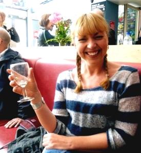 Jo Burke at the Soho Theatre Bar