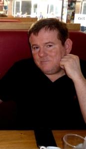 John Ryan at the Soho Theatre Bar a fortnight ago