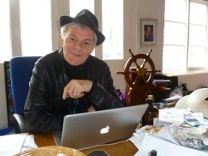 Noel in his office last year