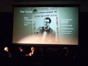 The final version of The Tunnel screened in Shoreditch last night