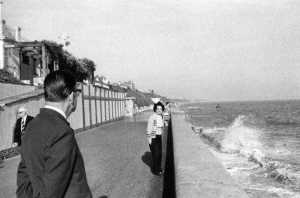 My father and mother on Clacton seafront