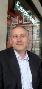 Paul Gudgin in London yesterday