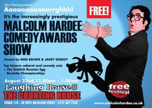 Malcolm Hardee Show 2014