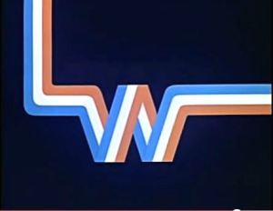 An on-screen ident for LWT in 1975