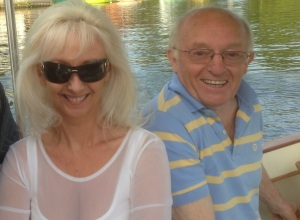 Paul Daniels with the lovely Debbie McGee