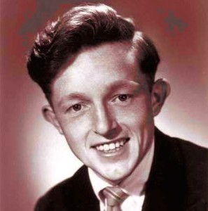 Paul Daniels, magician, aged 14