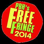 This year's PBH Fringe logo