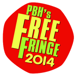 This year's PBH Fringe logo