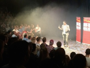 Stephen K Amos hosted last night's show