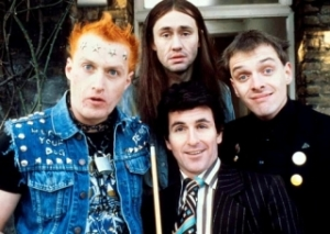 The Young Ones. Christopher Ryan (bottom_ replaced Pete Richardson