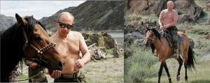 Vladimir, with a love of horses worthy of the wild Wild West