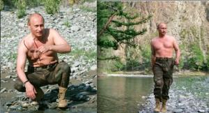 Vladimir Putin - macho man incarnate