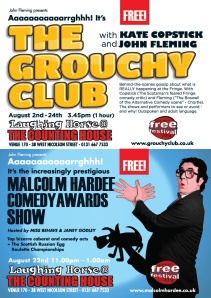 Grouchy Club + Malcolm Hardee Awards 2014