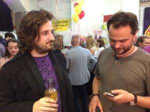 Men of dubious taste: Alexander Bennett (left) & Paco Erhard