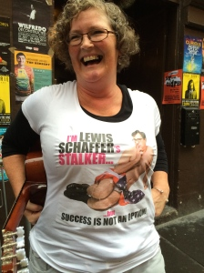Lewis Schaffer has branded Blanche's bosoms
