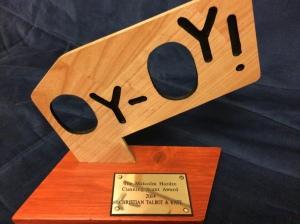 Christian Talbot's increasingly prestigious Cunning Stunt Award