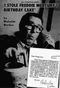 Malcolm Hardee's 1995 free Fringe show