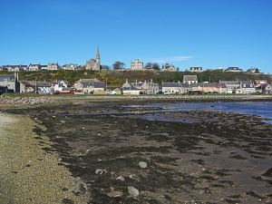 Lossiemouth in the north east of Scotland