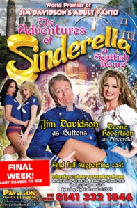 Jim's panto Sinderella - see what he did there?