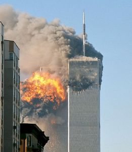 The World Trade Center attack on 11 September 2001