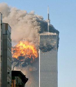 The World Trade Center attack on 11 September 2001