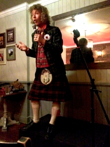 Billy Watson at last month's Edinburgh Fringe