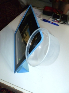 The new speaker enhanced iPad system