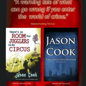 Jason Cook's first two semi-autobiographical crime books