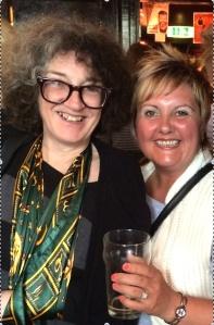 Kate Copstick & Machete Hetty after Grouchy Club show