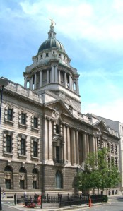 The Central Criminal Court at the Old Bailey