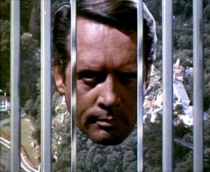 Part of the title sequence from The Prisoner