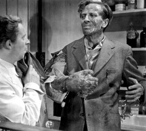 The Quatermass Xperiment was a Hammer horror