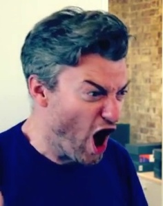 Charlie Brooker reacts to Ariane's Hitler Moustache