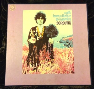 My copy of Donovan's A Gift From a Flower To a Garden