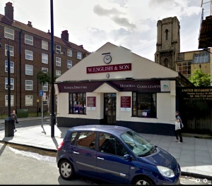 English & Son in 2012 on Google StreetView