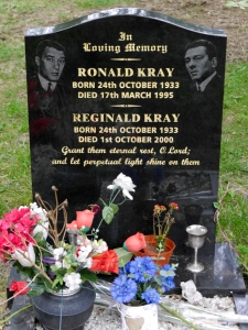 The Krays' gravestone