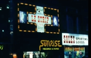 Le Strip in its heyday