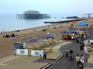 Brighton in England is probably safer than Bahrain