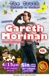 The show that started the Gareth Morinan Awards