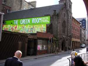 The Cowgate in Edinburgh