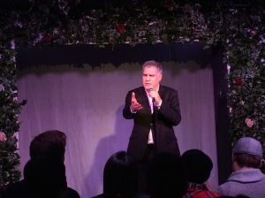 Lewis Schaffer at the Leicester Square Theatre last night