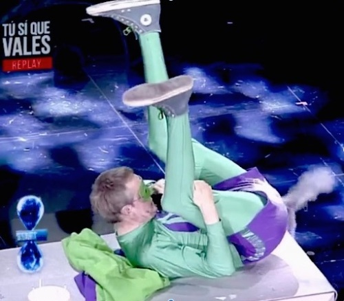 Mr Methane performed to an unprepared Italian nation on primetime Saturday night Television
