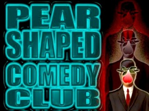 Pear Shaped Comedy Club logo