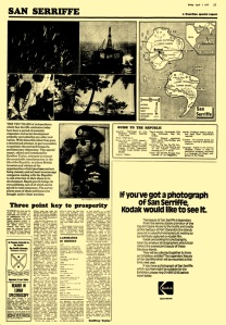 Guardian reported on San Serriffe in 1977
