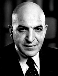 Telly Savalas in a 1973 publicity pic for Kojak