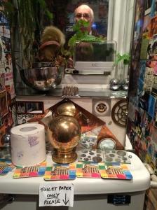 I went into Nigel Noize's toilet - perhaps foolishly